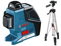 Изображение Лазерный нивелир BOSCH GLL 3-80 P Professional + BT 150 + вкладка под L-Boxx 0601063306