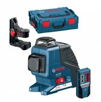 Изображение Лазерный нивелир BOSCH GLL 2-80 P Professional + BM1 (новый) + LR2 + L-Boxx 0601063209