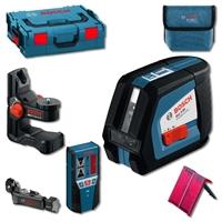 Изображение Лазерный нивелир BOSCH GLL 2-50 Professional  + BM1 (новый) + LR2 + L-Boxx 0601063109