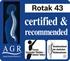 Изображение Газонокосилка Bosch Rotak 43 велоручка 06008A4300