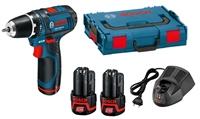 Изображение Аккумуляторная дрель-шуруповерт BOSCH GSR 12V-15 Professional 0601868109
