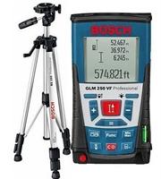 Изображение Лазерный дальномер BOSCH GLM250VF + BT150 Professional 061599402J
