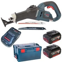 Изображение Аккумуляторная ножовка BOSCH GSA 18V-32 Professional L-Boxx 06016A8107