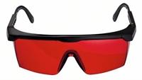 Изображение Очки для наблюдения за лазерным лучом BOSCH красные 1608M0005B
