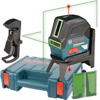 Изображение Лазерный нивелир BOSCH GCL 2-15 G Professional  + RM1 + BM3 0601066J00