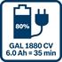 Изображение Базовый комплект BOSCH 2 GBA 18V 5.0Ah + GAL 1880 CV 1600A00B8J